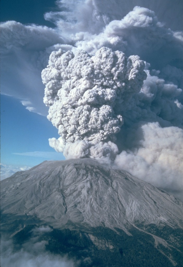 Mt. St. Helens, 1983 Courtesy of Stacy Herbert